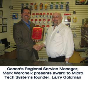 Canon Copier Authorized Service Center